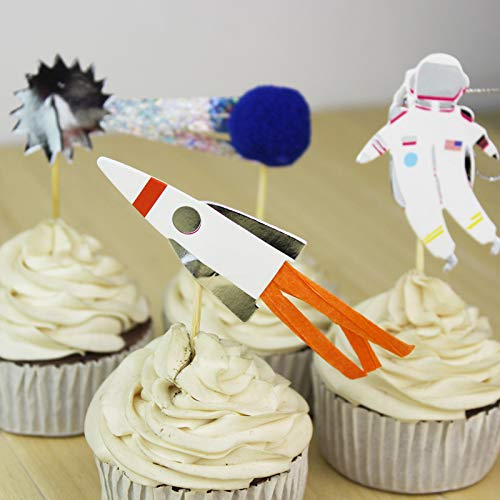 space theme cake decorations - 1