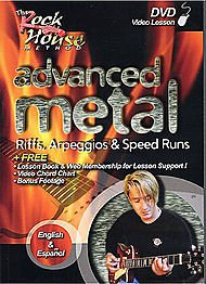 Hal Leonard Rock House: Advanced Metal (Advanced Rock Guitar Dvd)