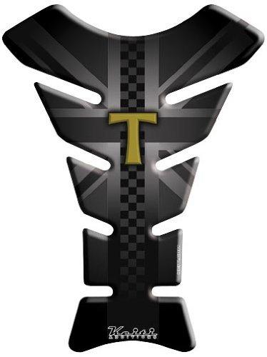 (Keiti Triumph T Tank Pad - Black)