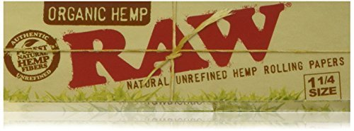 raw-unrefined-organic-125-1-1-4-size-cigarette-rolling-papers-full-box-of-24-packs