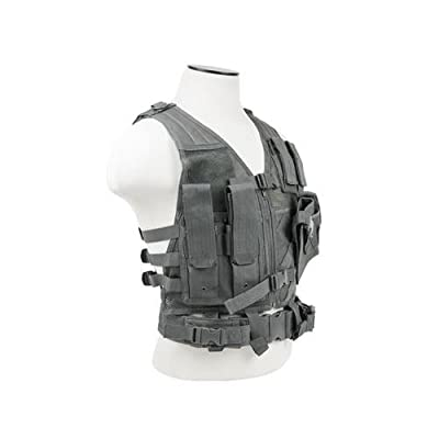 VISM CTVC2916U Tactical Vest Childrens/urban Gray