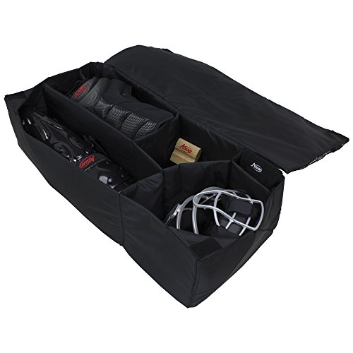 Adams USA ADMORG-BK Umpire Equipment Organizer Bag, Black]()