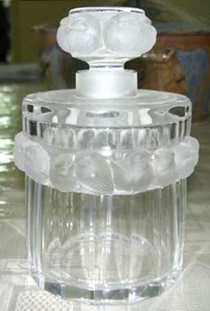 ラリック 香水瓶 メゾンジュ Mesanges コロンボトル パフュームボトル クリスタル [並行輸入品] B07D493CKC