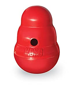 Amazon.com : KONG Wobbler Treat Dispensing Dog Toy, Small