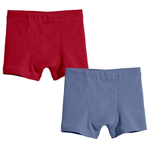 "City Threads Boys ""Mature"" Boxers Brief Underwear ALL-Cotton 2 Pack MADE IN THE USA"