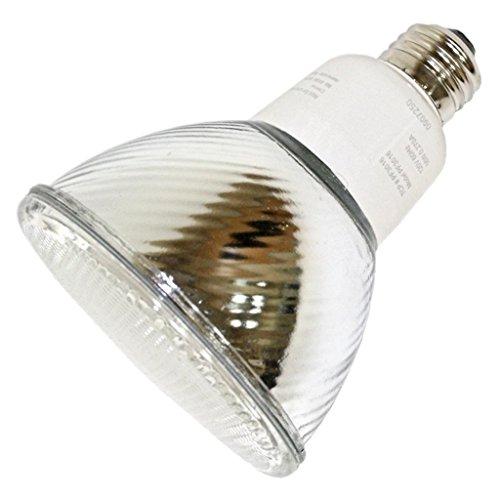 Reflector Fluorescent 16 Watt Par30 (TCP PF301641K CFL PAR30 - 65 Watt Equivalent (16W) Cool White (4100K) PAR Flood Light Bulb)