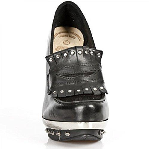 New Rock Boots M.punk038-c8 Gotico Hardrock Punk Damen Sneeker Schwarz