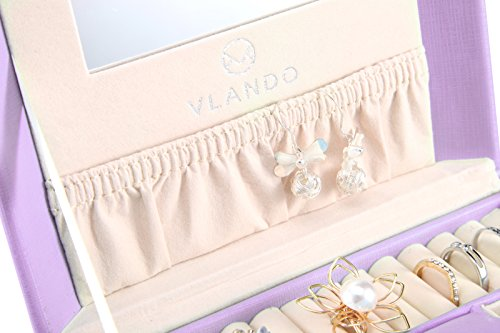 Vlando Princess Style Jewelry Box from Netherlands Design Team, Fabulous Girls Gift (Lavender) by Vlando (Image #4)
