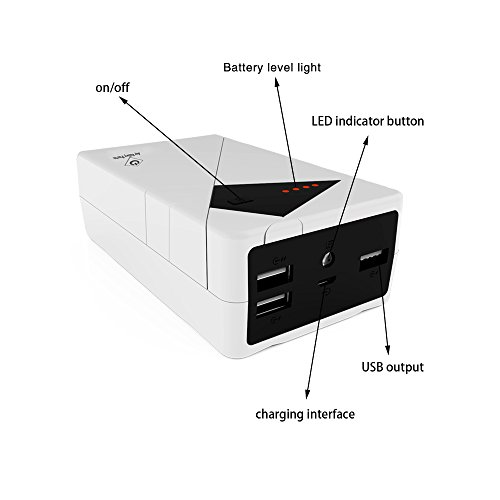 3 USB Port Rechargeable Incredible Thunderbolt USB charged