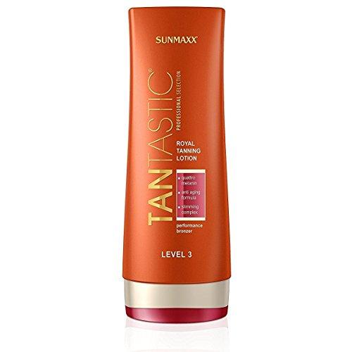 Sunmaxx Tantastic 로얄 태닝 로션 레벨 3 일광욕 화장품 200 ml