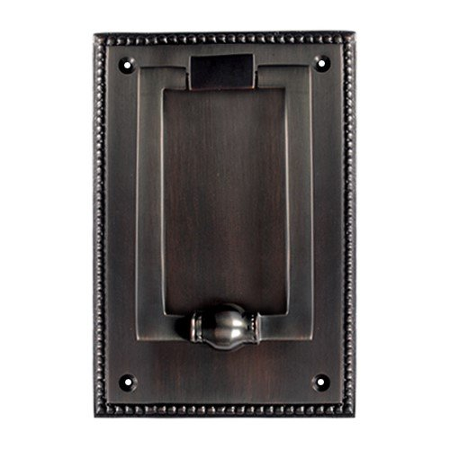 Adonai Hardware Jehoshaphat Brass Door Knocker (Oil Rubbed Bronze)