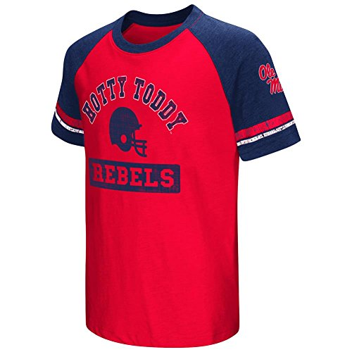 Colosseum Youth Short Sleeve Ole Miss Rebels Graphic Tee (YTH (16-18))
