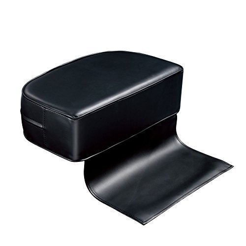 Salon Booster Seat Chair For Child Hair Hairdressing Faux Leather Urbanity Black