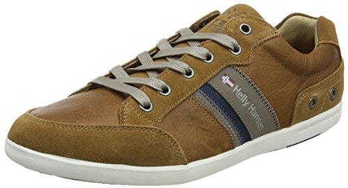 Helly Hansen Mens Kordel Leather Casual Lifestyle Shoe New Light Tan/Falcon