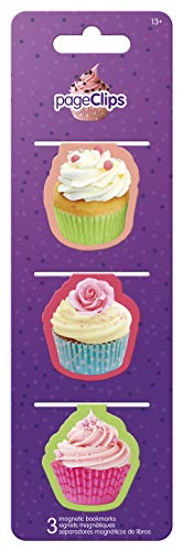 Trends International  Cupcake Magnetic Page Clip Bookmark ()