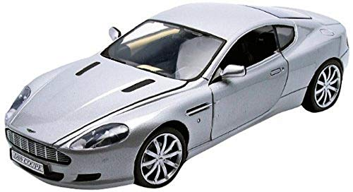 Coupe Db9 Aston Martin (Motormax 2006 Aston Martin DB9 Coupe, Silver 73174SV/4 - 1/18 Scale Diecast Model Toy Car)