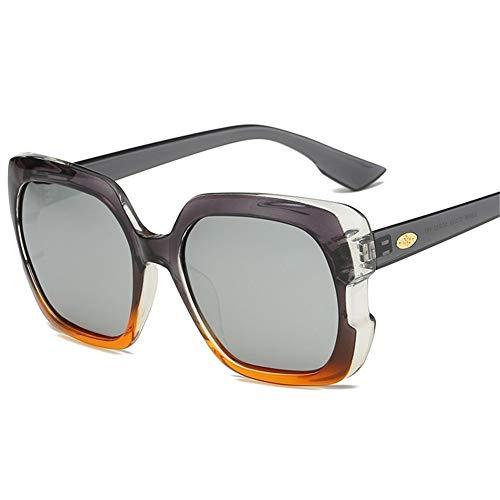 E Gafas polarizadas de sol Estados Unidos NIFG tendencia unisex gafas Europa los sol y de TR tendencia caja forman qAUwxttdF