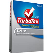 TurboTax Deluxe Federal + e-File + State 2010 - [Old Version]