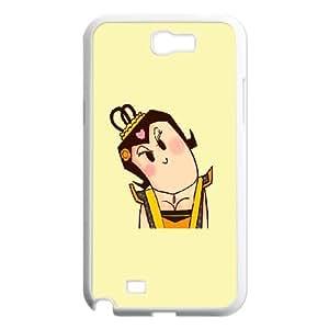 Samsung Galaxy N2 7100 Cell Phone Case White_CariCartoon Funny Cartoon (12) FY1396839