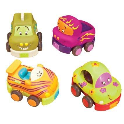 B. Wheeee-ls! Soft Cars - A B An