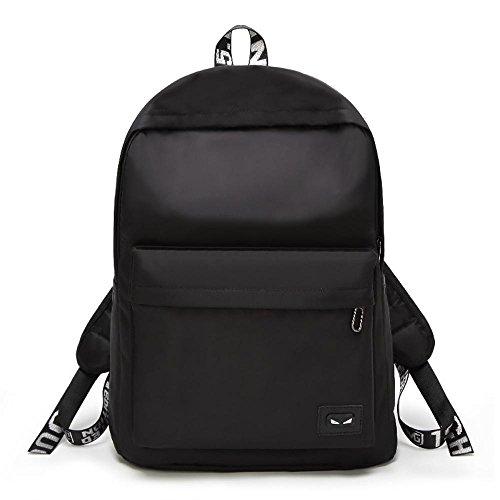 Aoligei Étudiant de grande capacité Fashion Lady sac à dos sac à bandoulière A
