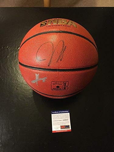 big sale 94104 addc6 James Harden & Kyrie Irving Auto Autographed Signed ...