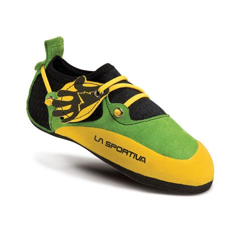 Kinder Kinder Stickit Kletterschuhe Lime yellow Stickit ZBzqwB