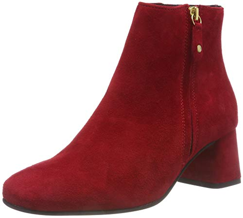 324 Pavement Rouge Bottines Crystal Femme 324 Suede Red pv74ZFp