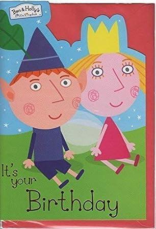 Ben & Holly Tarjeta De Cumpleaños: Amazon.es: Juguetes y juegos