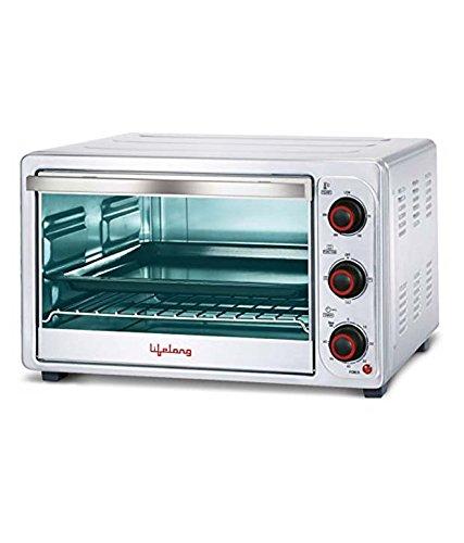 Lifelong 1500 Watt 26 Litre Oven Toaster Grill Sliver