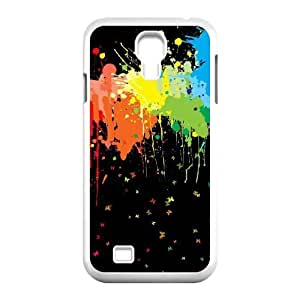 Stevebrown5v Splatter Samsung Galaxy S4 Cases Splatter,butterfies, Splatter [White]