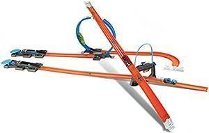 Mattel Hot Wheels DGD29 - Spielbahnen, Track Builder Starter Set