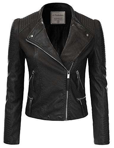 Fitted Leather Jacket - 3