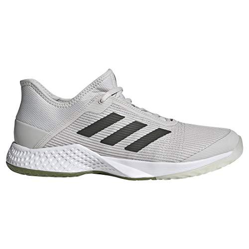 adidas Men's Adizero Club Football Shoe, Grey/Legend Earth/Tech Olive, 9.5 M US