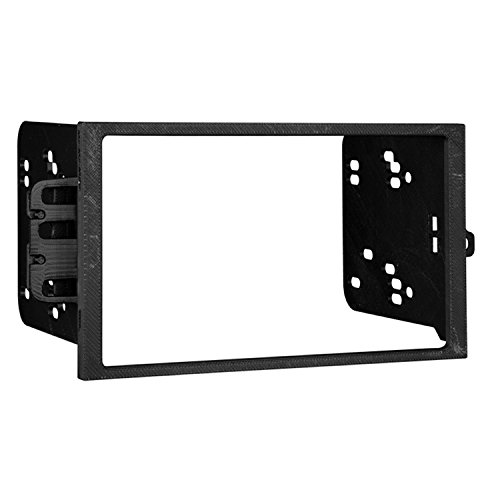 - Metra Electronics 95-2001 Double DIN Installation Dash Kit for Select 1990-Up GM Vehicles