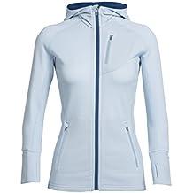 Icebreaker Merino Icebreaker Merino Womens Quantum Long Sleeve Zip Hood