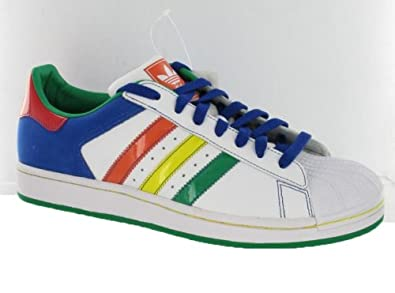 9de6a8dc5a91ef Adidas Superstar Ii Cb Mens Shoes White Multi-Color Size 11.5  Buy Online  at Low Prices in India - Amazon.in