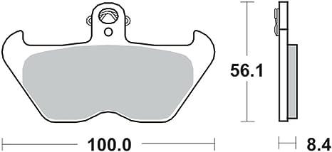 TRW Lucas Bremsbeläge MCB680 vorne BMW R 1100 RS