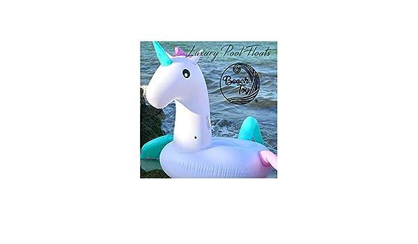 beachtoy colchón hinchable unicornio volador, multicolor 2 - 3 ...