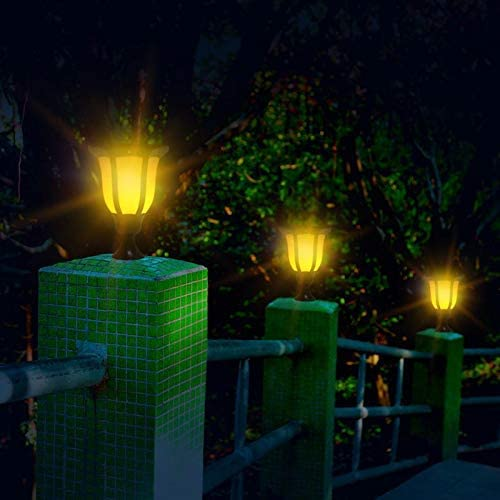 Llama luz solar led antorcha luz de la vela casa jardín decoración lámpara de césped: Amazon.es: Iluminación