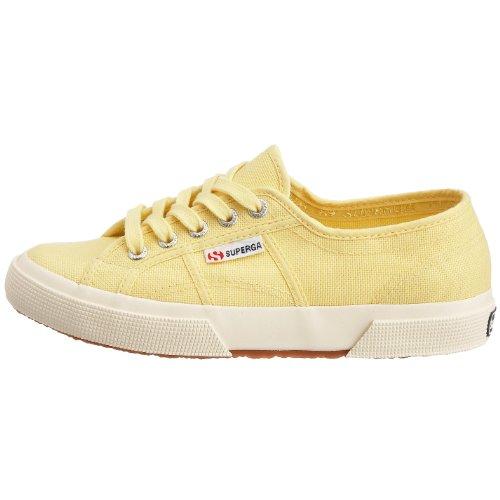 Jaune Superga Classic yellow 2750 Adulte Baskets Cotu Mixte xwv4SwqYR