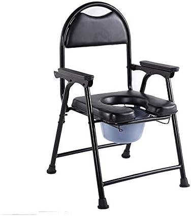 MMPY Wirtschaftlich und praktisch, WC-Stuhl mit Anti-Rutsch-Matte, Geeignet for Senioren, Schwangere, Menschen mit Behinderungen und andere besondere Menschen