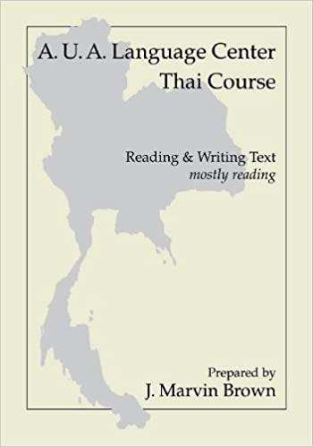 Aua language center thai course reading and writing mostly aua language center thai course reading and writing mostly reading 1st edition fandeluxe Images