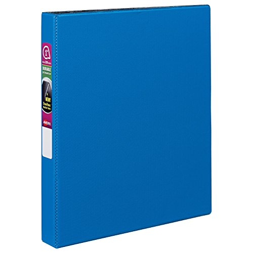 "Durable EZ-Turn Ring Reference Binder, 11 x 8-1/2, "" Capacit"