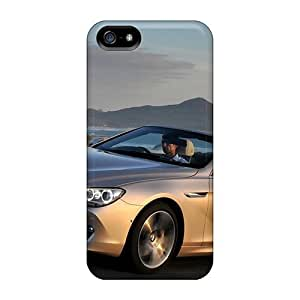 BSC9224NjsB Tpu Phone Cases With Fashionable Look For Iphone 5/5s - Bmw 6 Series Convertible 2012 Kimberly Kurzendoerfer