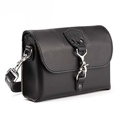 Saddleback Leather Clutch Purse - Beautiful 100% Full Grain Leather Small Crossbody Bag or Handbag with 100 Year Warranty