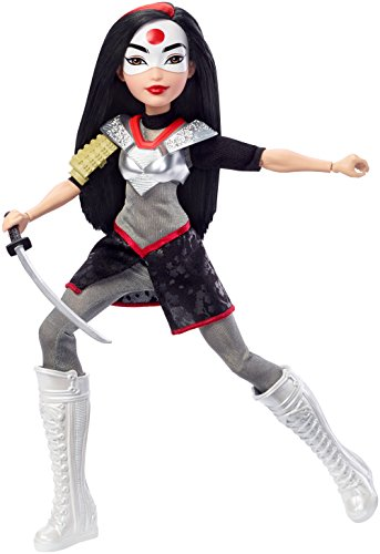 (DC Super Hero Girls Katana Action Figure Doll, 12