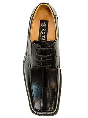 Zota Men's Classic Leather Square Toe