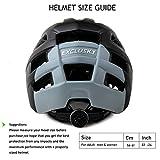Exclusky Mountain Bike Helmet MTB Bicycle Cycling