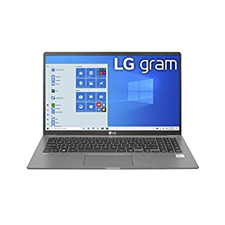 "LG Gram Laptop - 15.6"" IPS Touchscreen, Intel 10th Gen Core i7 1065G7 CPU, 16GB RAM, 1TB M.2 MVMe SSD (512GB x 2), 17 Hour Battery, Thunderbolt 3 - 15Z90N (2020), Model:15Z90N-R.AAS9U1"
